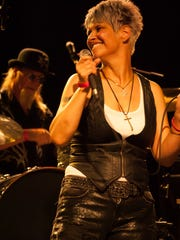 Michele McCarthy of Chicago band Betty Bleu was among
