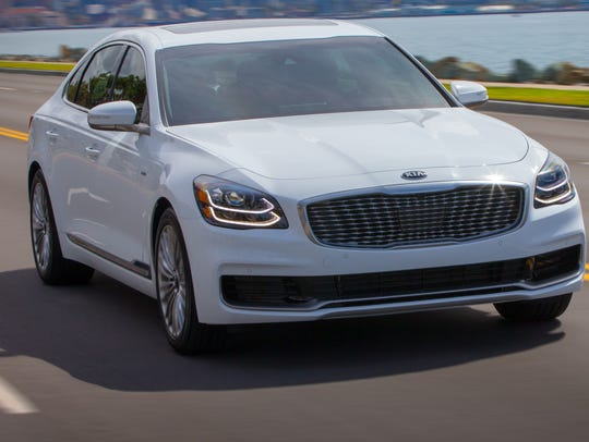 Kia hopes its redone K900 luxury sedan will see stronger