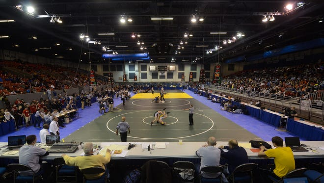 Kellogg Arena was the site of the MHSAA Team Wrestling State Finals since 1988. The MHSAA announced in 2015 that the Finals will now be held at Central Michigan University.