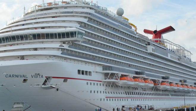 The Vista is the largest and newest ship in the Carnival fleet.