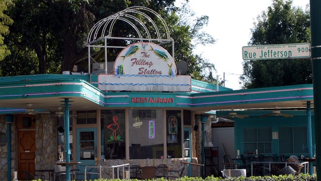 This Advertiser file photo depicts The Filling Station in downtown Lafayette. The restaurant is reopening soon under new management.