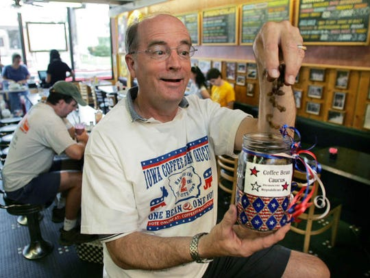 Dave Panther, owner of Hamburg Inn No. 2 in Iowa City,