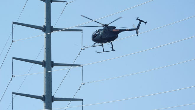 : Atlantic City Electric will inspect more than 1,100 miles of transmission lines by helicopter in South Jersey.