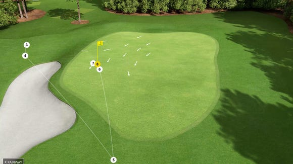 Defending Masters champ hits a stone-cold shank, makes an 8 on the first hole