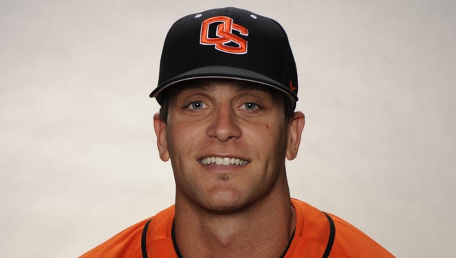 Oregon State assistant baseball coach Andy Jenkins.