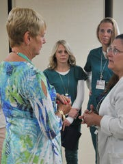 Kathy Taylor lost her son, Cory, 26, from health effects from his heroin addiction. Taylor recently returned to Brevard to personally thank the nursing staff who treated them so well.