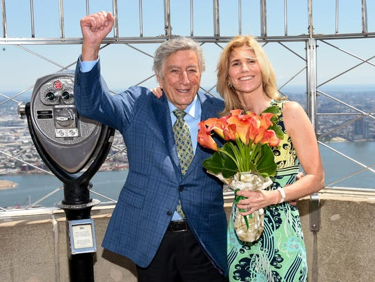 Tony Bennett who turned 90 on Aug. 3, says he stays