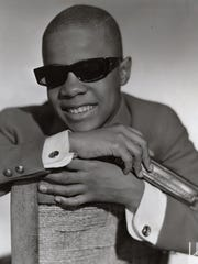 Stevie Wonder in September 1963