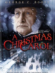 "Poster for the 1984 version of ""A Christmas Carol"""