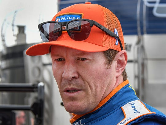 Chip Ganassi Racing IndyCar driver Scott Dixon (9)