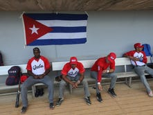 Photos: The Cuban National Baseball team comes to New Jersey