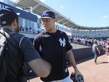 Photos: Judge and Stanton highlight Yanks Spring Training workout