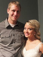 Tiffin residents and newlyweds Kylee and Nate Hayes.
