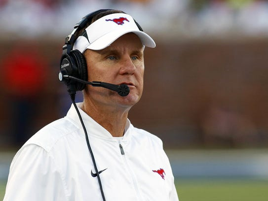 Chad Morris has guided SMU to bowl eligibility this season.