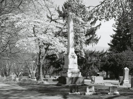 Green Hill Cemetery, the second oldest cemetery in Waynesboro, is the destination April 18 for Antietam Ramblers, a historical trekking group.
