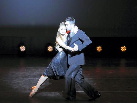 Pro dancers from three hit TV dancing shows will star in 'Ballroom with a Twist' June 13 in Luhrs Center, Shippensburg.
