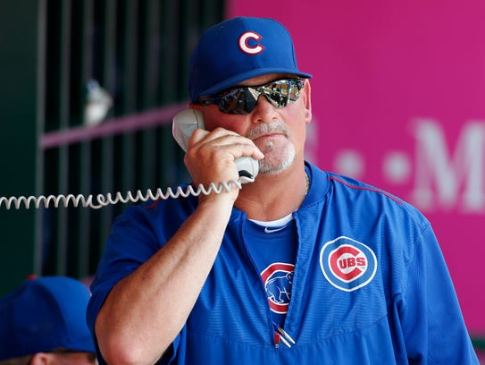 Former Cubs pitching coach Chris Bosio will have the