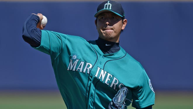 The Mariners' Hisashi Iwakuma had his best outing of the spring Friday, limiting Kansas City to one run on four hits in 5 2/3 innings. Iwakuma struck out four and didn't walk a batter.
