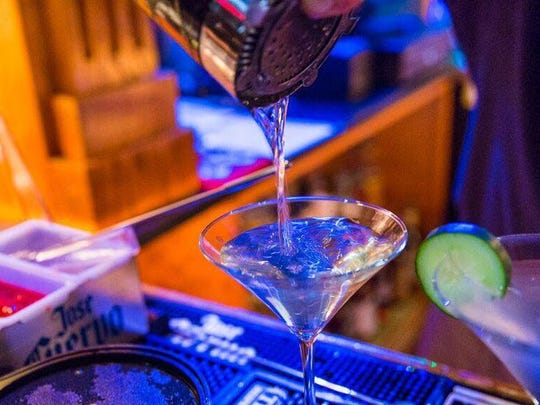 Dirty Martini Bistro & Bar features 11 signature martinis