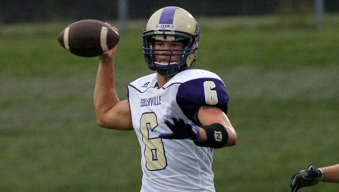 Fowlerville's Nick Semke and the Gladiators squared off against Lansing Waverly on Friday night.