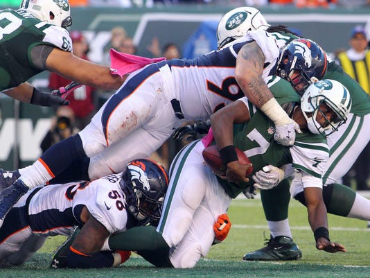 Denver Broncos at jets