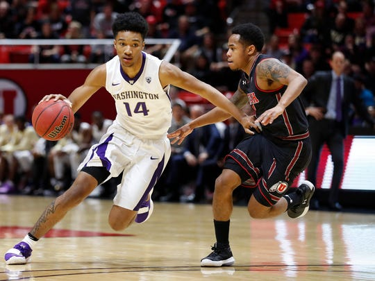 Michael Carter III was under-recruited in high school and originally committed to the University of San Francisco. He scored a career-high 9 points during Thursday's loss at Utah.
