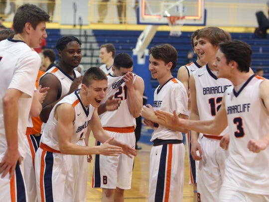 Briarcliff defeated Center Moriches 62-49 in the boys