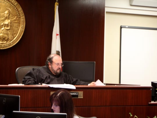 Riverside County Superior Court Judge Helios Hernandez