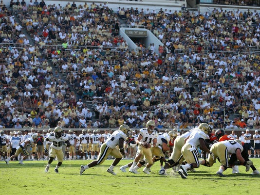 NCAA Football: Mercer at Georgia Tech