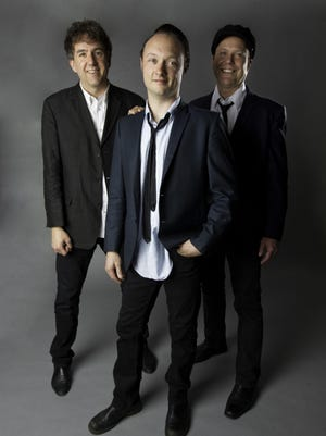 The Hi-Risers: From left, Greg Townson, Jason Smay and Todd Bradley,