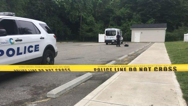 Cincinnati police are on the scene investigating a suspicious death in North Avondale.
