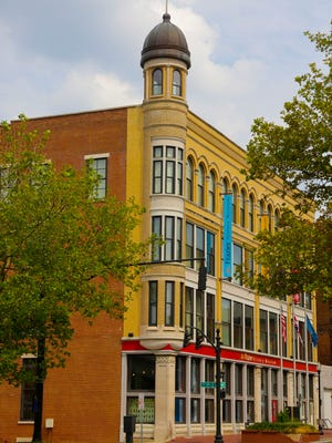 This is the Frazier History Museum located on Main Street in downtown Louisville. September 5, 2012