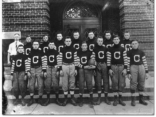 The 1915 Congerville Flyers were a precursor to 1920