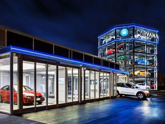Phoenix Based Car Vending Company Carvana Keeps On Rolling