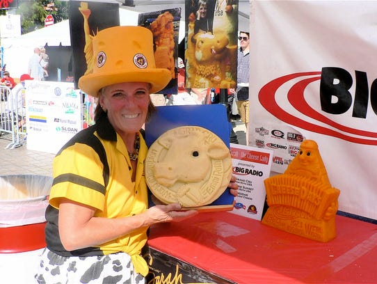 "Sara Kaufmann,  ""The Cheese Lady,"" is known across"