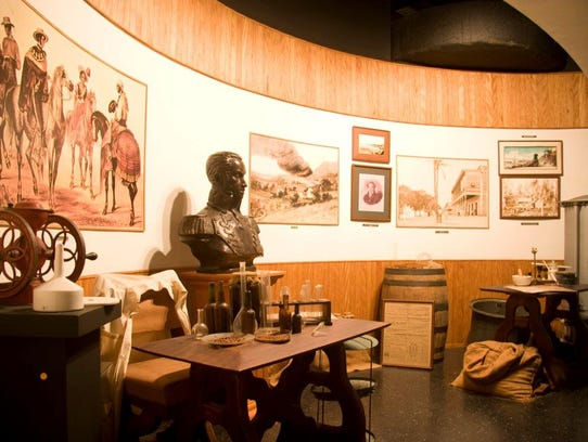 House of Angostura tours in Trinidad include a museum