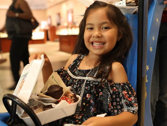 Cordova Mall was filled Thursday, April 22, with hundreds