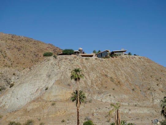Rancho Mirage flat top hills.