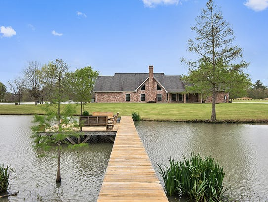 This property sits on almost 16 acres of land in St.