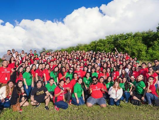 Docomo Pacific Guam's employees