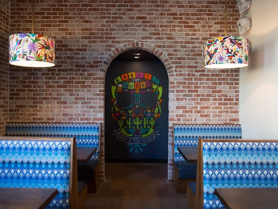 Decor at Barrio Queen at Desert Ridge in north Phoenix.