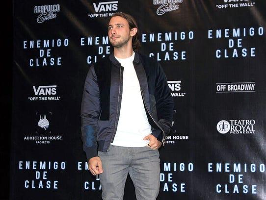 Emiliano Zurita debuta como actor, bajo la dirección
