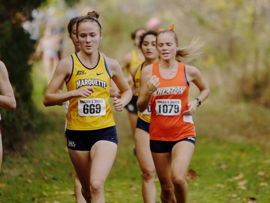 Emily Foley is a freshman for the Marquette University