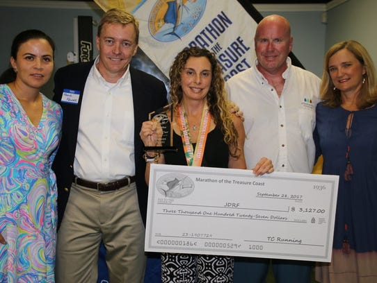 Recognizing the donation to the Juvenile Diabetes Research
