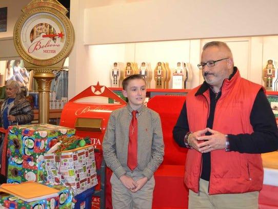 AJ Silvestri listens to Old Bridge Schools Superintendent