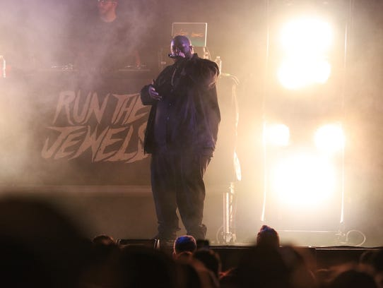 Run the Jewels opens for Lorde on the first night of