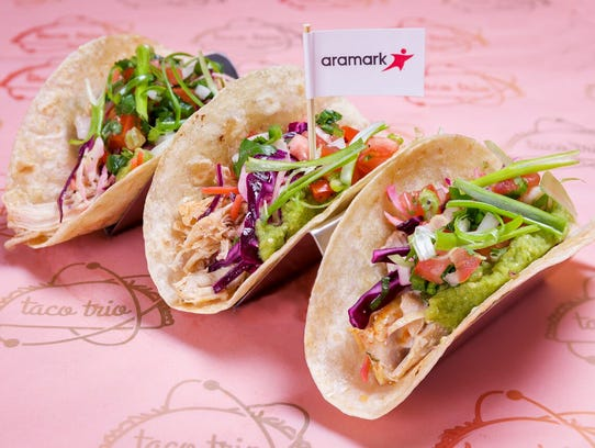 New tacos at Coors Field.