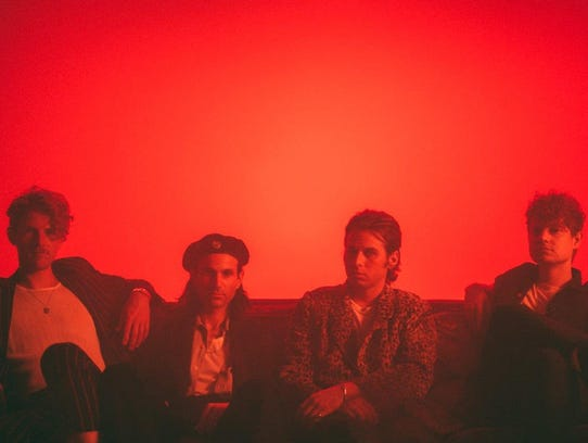 Foster the People plays Saturday at 8:45 p.m.