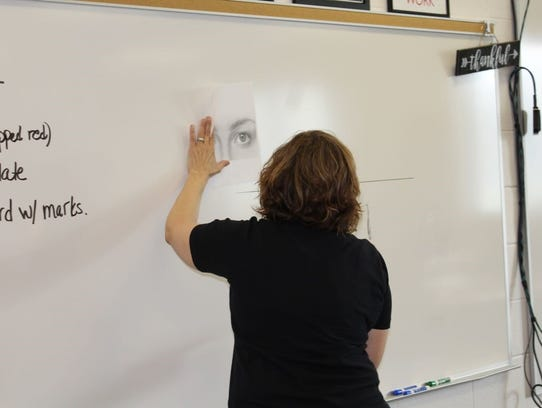 Middle school students learned about the skills required