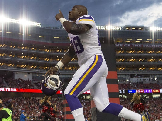 NFL: Minnesota Vikings at San Francisco 49ers